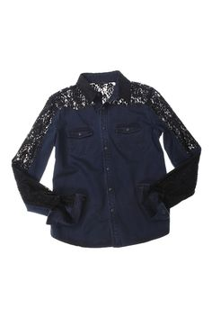 i think i like this? would be perfect for a country western night. \\ Fall 2012 Denim Trend: Naughty and Nice  (Joe's Jeans)