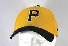 fc0d1faaed9 New Era 9Fifty Pittsburgh Pirates Black Yellow Snapback Baseball Hat Cap