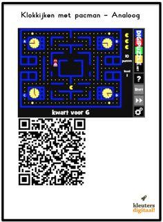 Oefen met klokkijken Leeftijd: 4 – 99 jaar Prijs: gratis Download voor iPhone/iPad, Android & Windows De QR Codes QR codes zijn eigenlijk een soort streepjescodes. Deze streepjescodes worden door een QR code reader gelezen. Ik maak hierbij gebruik van de app I-nigma. Als je meer wilt lezen over hoe de app I-nigma werkt lees … Qr Codes, Coding, Apps, Amazon, School, Riding Habit, Amazon River, App, Appliques