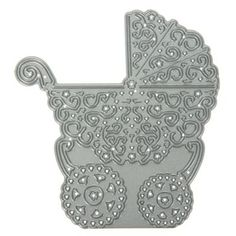 Buy Tattered Lace Decorative Pram from CreateAndCraft.tv