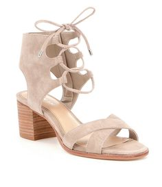 Shop for Gianni Bini Kolemann Lace-Up Block-Heel Sandals at Dillards.com. Visit Dillards.com to find clothing, accessories, shoes, cosmetics & more. The Style of Your Life.