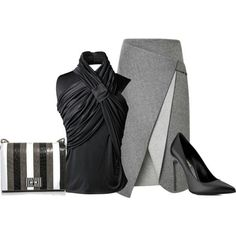 Classic black and gray, www.lolomoda.com