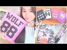 DIY K-POP School Supplies!♡Binders, Notebooks, Pens, etc. - YouTube