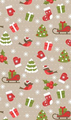 Trendy Ideas for kawaii christmas wallpaper wrapping papers Noel Christmas, Christmas Paper, Christmas Images, Winter Christmas, Christmas Wrapping, Christmas Quotes, Christmas Wishes, Christmas 2019, Christmas Decor