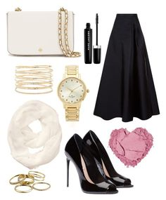 """Untitled #12"" by indreswarik on Polyvore featuring MaxMara, Kate Spade, Forever 21, Tory Burch, Athleta, Marc Jacobs and Kendra Scott"