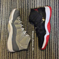 154ae4238c4977 Air Jordan XI Retro BRED   Cool Grey  jordan  airjordan  sneakers