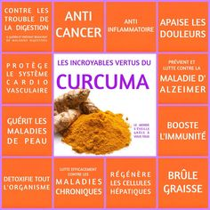 Fat burner, anti-inflammatory, anti-cancer … turmeric presents …- werner nathalie- # anticancer Health And Nutrition, Health And Wellness, Health Tips, Health Fitness, Curcuma Benefits, Workout To Lose Weight Fast, Naturopathy, Raw Food Recipes, Turmeric