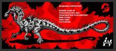 DeviantArt: More Like Jurassic Park Chaos Effect: Tyrannops by Fnafnir Jurassic World Hybrid, Jurassic Park World, Dinosaur Hunter, Dinosaur Art, Aliens, Dino Crisis, Jurassic World Dinosaurs, Devian Art, Fantasy Beasts