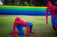 Spiderman in action   event, luxuria, kids, show, spiderman Saint Tropez, Cannes, Monaco, Cap D Antibes, Courchevel 1850, Kids Events, Paris, French Riviera, Bar Mitzvah