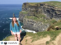 #Repost @marefultz Missing Ireland and the people I met there a little more today. I wish I was celebrating St. Patrick's Day on this beautiful island. One day I will be back. #Ireland #cliffsofmoher #stpatricksday #studyabroad #iSpyAPI #apistudyabroad