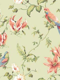 York Wallpaper - Tropical Floral