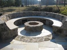Stunning Useful Ideas: Simple Fire Pit Brick Patios fire pit backyard rocks.Small Fire Pit Dream Homes fire pit backyard back yards.Fire Pit Backyard Back Yards. Garden Fire Pit, Fire Pit Backyard, Backyard Patio, Backyard Ideas, Fire Pit Seating, Fire Pit Area, Fire Pits, Seating Areas, Cheap Fire Pit