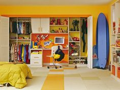 Kids' Closet Ideas from HGTV