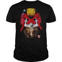 View images & photos of Judge Dredd Dredds Head t-shirts & hoodies