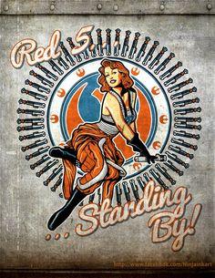 Star Wars pin up nose art Star Wars Poster, Star Wars Art, Star Trek, Nose Art, Fan Art, Tableau Star Wars, Comic Art, 1950 Pinup, Airplane Art