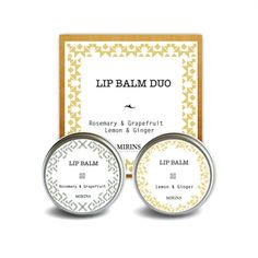 Læbe balsam - Duo