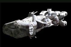 Star Wars Spaceships   ... IV (Rebel blockade runner) - Star Wars (1977)   RETURN TO INDEX