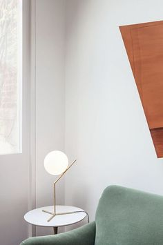 lifeasawaterelement:      The new IC Lights collection by Cypriot and London-based designer     Michael Anastassiades for Flos. | Princess Consuela