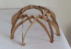 Traditional Geometry & Architecture in Practice: Lecture & Workshop with Taimoor Khan Geometry Architecture, Concept Models Architecture, Architecture Model Making, Timber Architecture, Pavilion Architecture, Amazing Architecture, Architecture Design, Cardboard Sculpture, Islamic Art Pattern