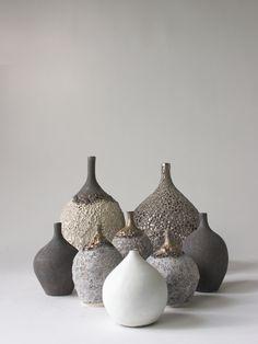 LAVA Platinum glaze vase - RYOTA AOKI POTTERY ONLINE STORE
