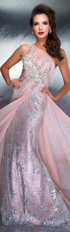Mac Duggal couture dress