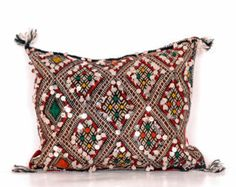 Vintage Berber Kilim Cushion / Pillow Handcrafted in Morocco (C1)