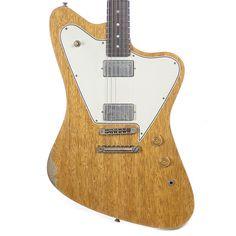 Fano Alt de Facto PX6 Korina Vintage Amber Medium Distress Guitar w/Lollar Imperials