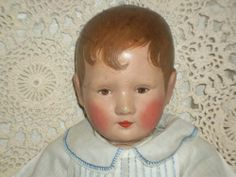 "18"" rarely seen antique cloth doll by German Karl Schnieder 1925 Kathe Kruse LAL"