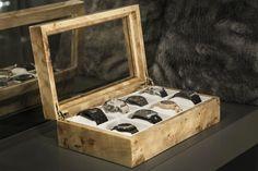 Watch Organizer, Watch Storage, Desk Organizer Set, Watch Holder, Luxury Watch Box, Watch Case, Wooden Watch Box, Gifts For Father, White Leather