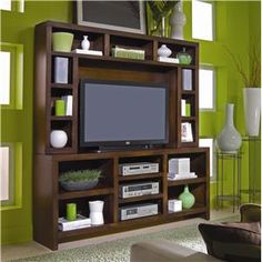 """Lifestyle 74"""" Console and Hutch"""