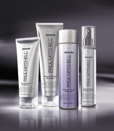 Must have product for blondes! Paul Mitchell Forever Blonde! We love our forever blonde line here at the salon! Stop by and pick some up today!