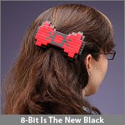This #8bit bow is super adorable and I kind of really want it! #geek