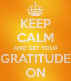 Stress has been know to effect ones IQ. Gratitude has been know to reduce stress. So get your Gratitude On!