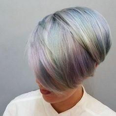 Holographic Hair Color Trend | POPSUGAR Beauty