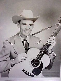 1953 country music photos | Charlie Walker's Martin 000-28