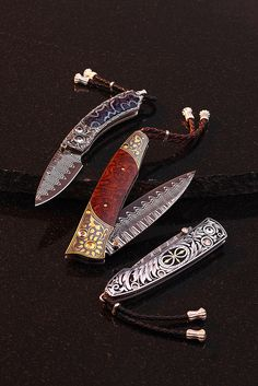 Stunning Pocketknives by William Henry by William Henry Studio, via Flickr