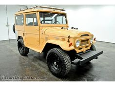 1973 Toyota Land Cruiser. Fell in love when we did an oil change on one at Amoco in St. Louis. I was fascinated by the utility and ruggedness. It had an electric fan pointing at the carb to prevent vapor lock. 7 quarts of oil! I had a chance to buy one later but I passed it up. :(