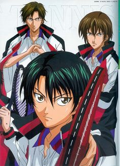 Kunimitsu Tezuka, Ryoma Echizen, Shusuke Fuji