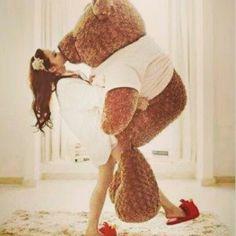 Big teddy bear *-*