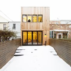 Brooklyn Row House, New York, 2014 - OA Office Of Architecture #facade
