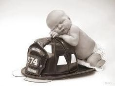 Love! So going to do this when our baby comes, both me and the father are firefighters