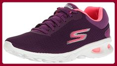 Skechers Go Walk Zip Damen US 7 Lila Wanderschuh - Sneakers für frauen (*Partner-Link)