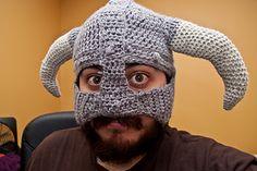 Skyrim crochet hat pattern (free)