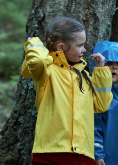 This traditional rain coat has more to it than you'd imagine. For kids, rain can be sheer magic. Paddling in puddles is one of the greatest childhood pleasures. Our classic bestseller 'Lampi' rain jacket is just what you need for a rainy day - or a wild mud wrestling match. #Reima #RainWear #KidsRainClothes #Rain Nordic Design, Rain Wear, Mud, Best Sellers, Activities For Kids, Kids Outfits, Rain Jacket, Raincoat, Childhood