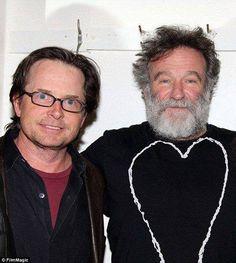 michael j fox & robin williams