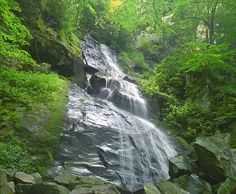 My sister adores waterfalls so we will stop to visit many in North Carolina.  #AlamoHappyPlace