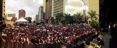 Más de 10 mil personas disfrutan del concierto Sin Mordaza en Caracas