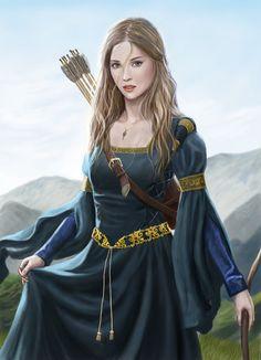 Sofia from Harbinger Chronicles by dashinvaine.deviantart.com on @deviantART