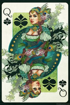 Queen of Spades by vinegar.deviantart.com on @deviantART