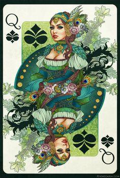 Queen of Spades by Vinegar Superbe !